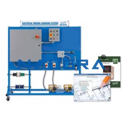 VFD PLC Wiring Learning System