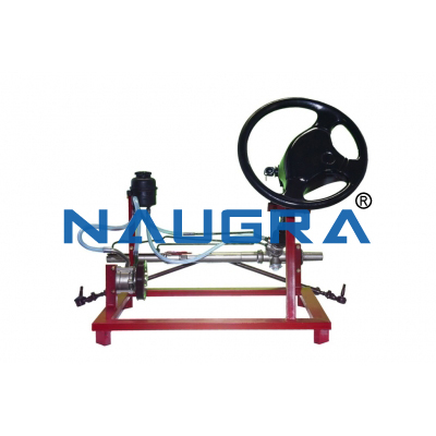 Power steering system (cut model)