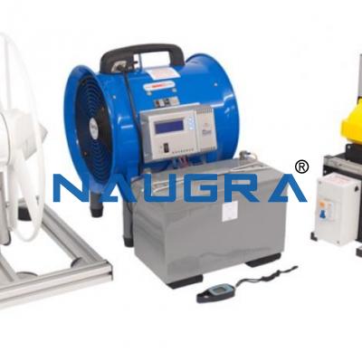 Combined Wind And Solar Generator Demonstrator
