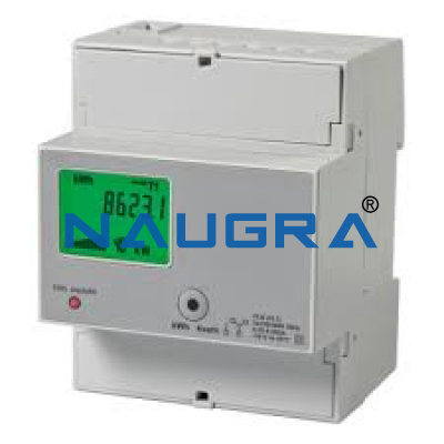 ACTIVE AND REACTIVE ENERGY THREE-PHASE COUNTER