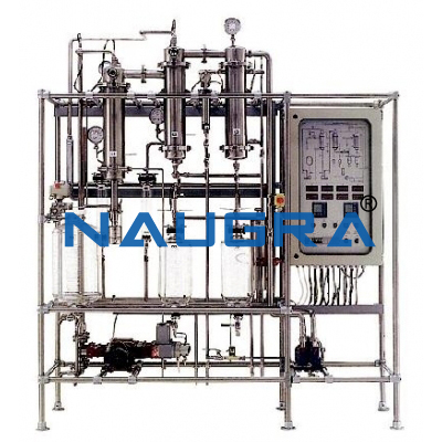 Double Effect Falling Film Evaporation Plant
