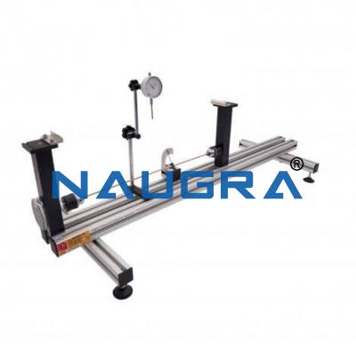 Torsion and Deflection Testing Apparatus