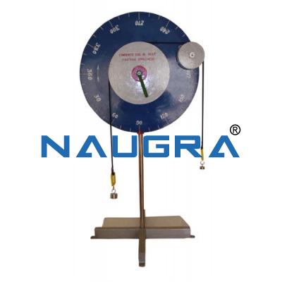 Mechanics Machine Friction of Belts Apparatus