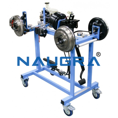 Model Of Hydraulic Braking System