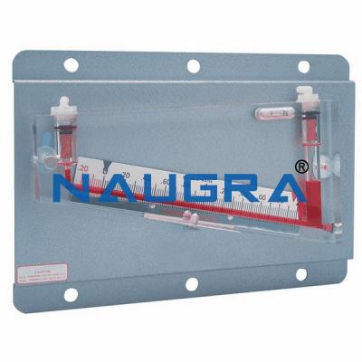 Series Liquid Manometers Apparatus